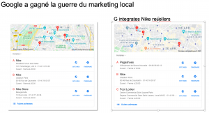 Google champion du marketing local